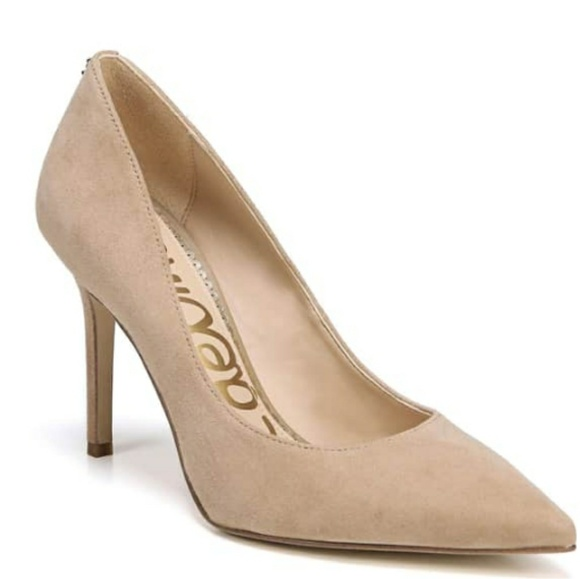 25c5df309 Sam Edelman Hazel Leather Suede Pump. M 5b9466c7a5d7c61571d2200e